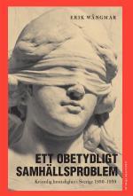 Ett Obetydligt Samhällsproblem - Kvinnlig Brottslighet I Sverige 1950-1959