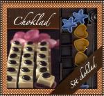 Choklad Box - Bok, 12 Pralinformar & Doppspiraler