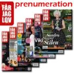 Får Jag Lov / Helårsprenumeration inkl premie