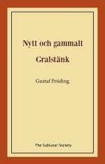 Nytt Och Gammalt ; Gralstänk
