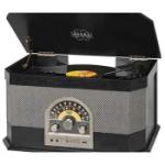 Trevi Vintage Skivspelare, Radio&BT TT1040 Svart
