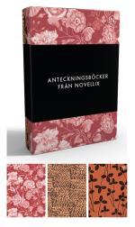 Anteckningsböcker Från Novellix - 3-pack, Röd