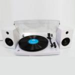GPO Piccadilly Skivspelare / Stereo Vit