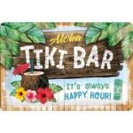 Plåtskylt Retro 20x30 cm / Tiki Bar