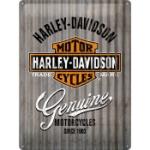 Plåtskylt Retro 30x40 cm / Harley-Davidson