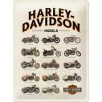 Plåtskylt Retro 30x40 cm / Harley-Davidson model