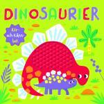 Dinosaurier - Rör- Och Känn-bok