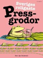 Sveriges Roligaste Pressgrodor