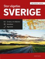 Stor Vägatlas Sverige - Vägatlas I Stort Format, Skala 1-250000-1-400000