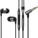 Hörlur in-ear SoundMAGIC E80C Med mik / Gunmetal
