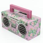 Högtalare GPO Bronx / Floral pink