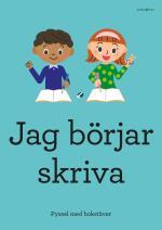 Jag Börjar Skriva - Pyssel Med Bokstäver
