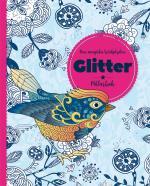 Den Magiska Trädgården - Glitter - Målarbok
