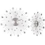 Väggklocka / Crystal Ca 50 cm