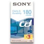 VHS-band Sony CD-180 (VHS/3-tim) 1-pack