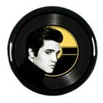 Bricka rund / Elvis Presley ansikte 33 cm
