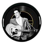 Bricka rund / Elvis Presley med gitarr 33 cm