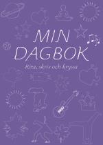 Min Dagbok - Rita, Skriv Och Kryssa (lila)