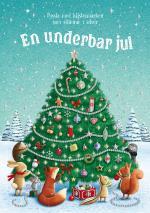 En Underbar Jul - Pyssla Med Klistermärken Som Skimrar
