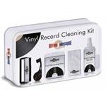 Rengöringskit Exklusiv för vinyl i vit plåtbox