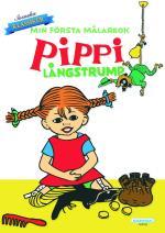 Min Första Målarbok Pippi Långstrump