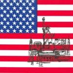 Servetter America 50-pack 33 x 33 cm