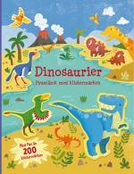 Dinosaurier - Pysselbok Med Klistermärken