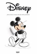 Disney Malebog - Malebok - Målarbok