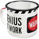 Emaljmugg / Genius at work
