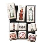 Magnet-set Retro / Coca-Cola Bottle