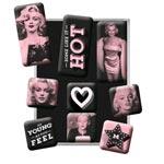 Magnet-set Retro / Marilyn
