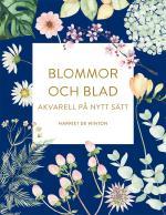 Blommor Och Blad- Akvarell På Nytt Sätt