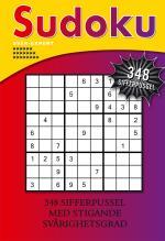 Sudoku- Svår-expert, 348 Sifferpussel Med Stigande Svårighetsgra