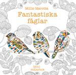 Fantastiska Fåglar Minimålarbok