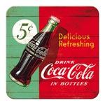 Glasunderlägg Retro / Coca-Cola