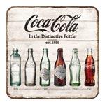 Glasunderlägg Retro / Coca-Cola bottles