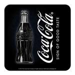 Glasunderlägg Retro / Coca-Cola Black