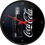 Väggklocka Retro / Coca-Cola Black