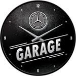 Väggklocka Retro / Mercedes-Benz Garage