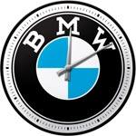 Väggklocka Retro / BMW Garage