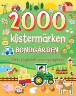 2000 Klistermärken Bondgården- 36 Skojiga Och Snurriga Pyssel