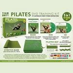 Träningskit / Pilates (DVD+CD+Stretchband+Matta)