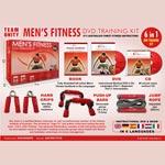 Träningskit / Men`s fitness (DVD+CD+Utrustning)