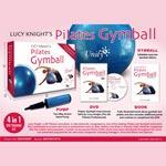 Träningskit / Pilates gymball (DVD+CD+Boll)