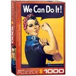 Pussel / Rosie The Riveter 1000 pcs