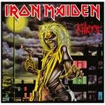 Väggdekor i metall / Iron Maiden 40 x 40 cm