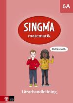 Singma Matematik 6a Lärarhandledning Med Lärarwebb
