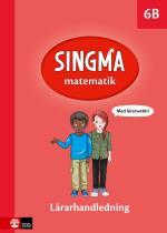 Singma Matematik 6b Lärarhandledning Med Lärarwebb