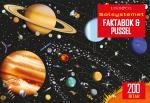 Solsystemet - Faktabok Och Pussel 200 Bitar