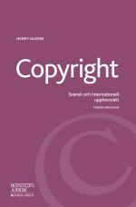 Copyright - Svensk Och Internationell Upphovsrätt